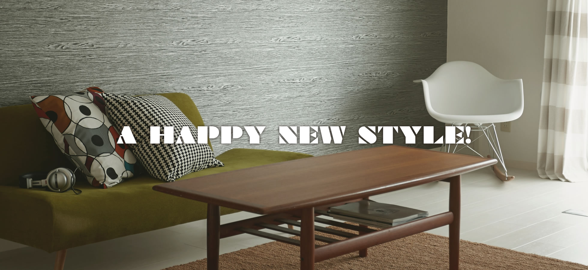 A HAPPY NEW STYLE!